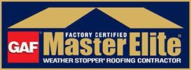 factory certified gaf master elite logo